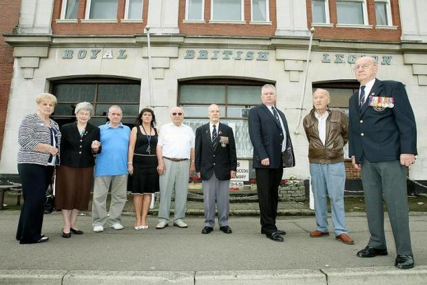 The Royal British Legion club closed in November due to financial troubles