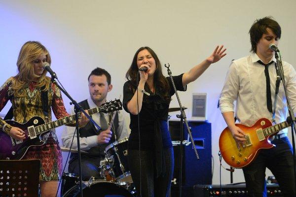 Imitation and Vocal Blaze performed at Epsom Downs Racecourse