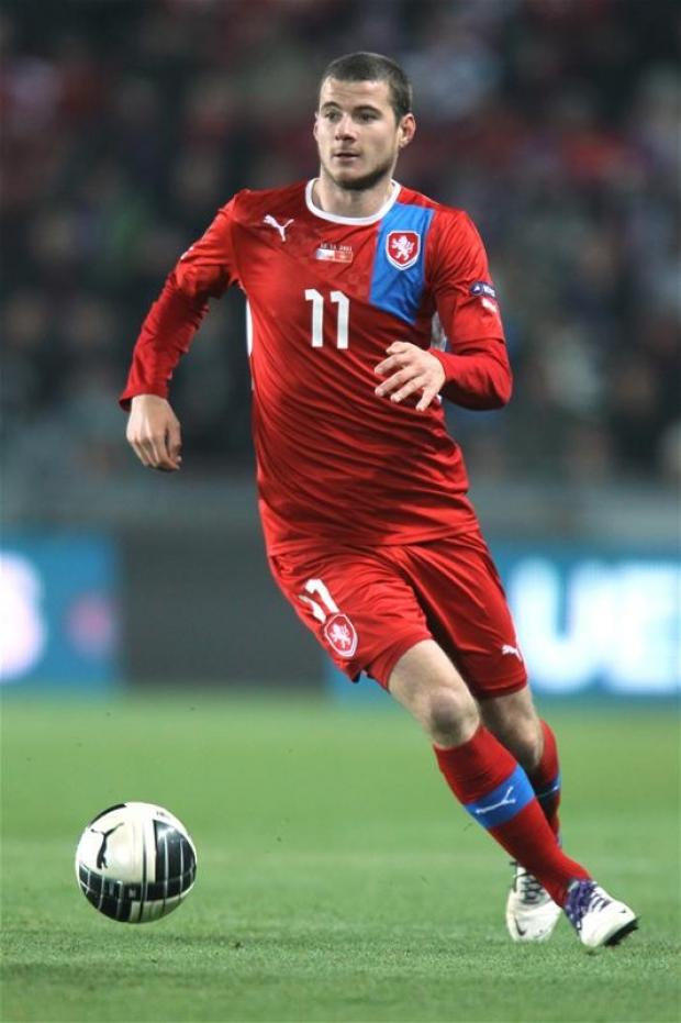 Daniel Pudil playing for Czech Republic. Picture: Action Images