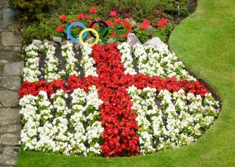Gardener Ray Jenkins has been inspired by the Olympics