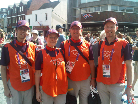 Olympic volunteers