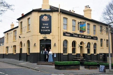 Man in hospital after pub incident