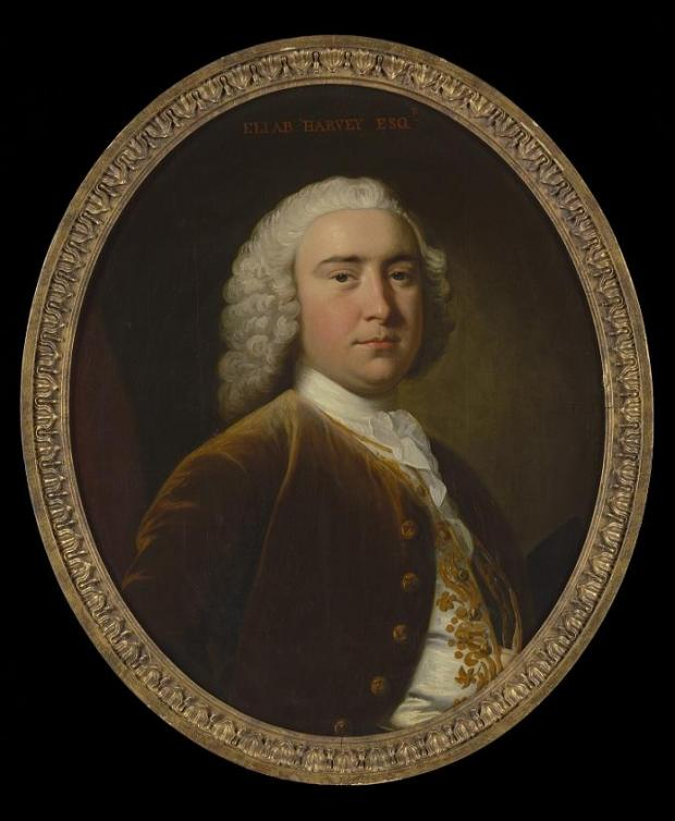 Eliab Harvey (1716 to 1769), by Thomas Hudson
