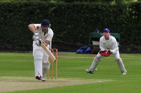 Batting for glory: Wimbledon skipper Neil Turk is looking for a league and cup double  SP68723