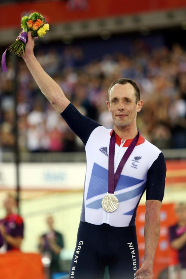 Silver medal for Paralympic star cyclist from Lewisham