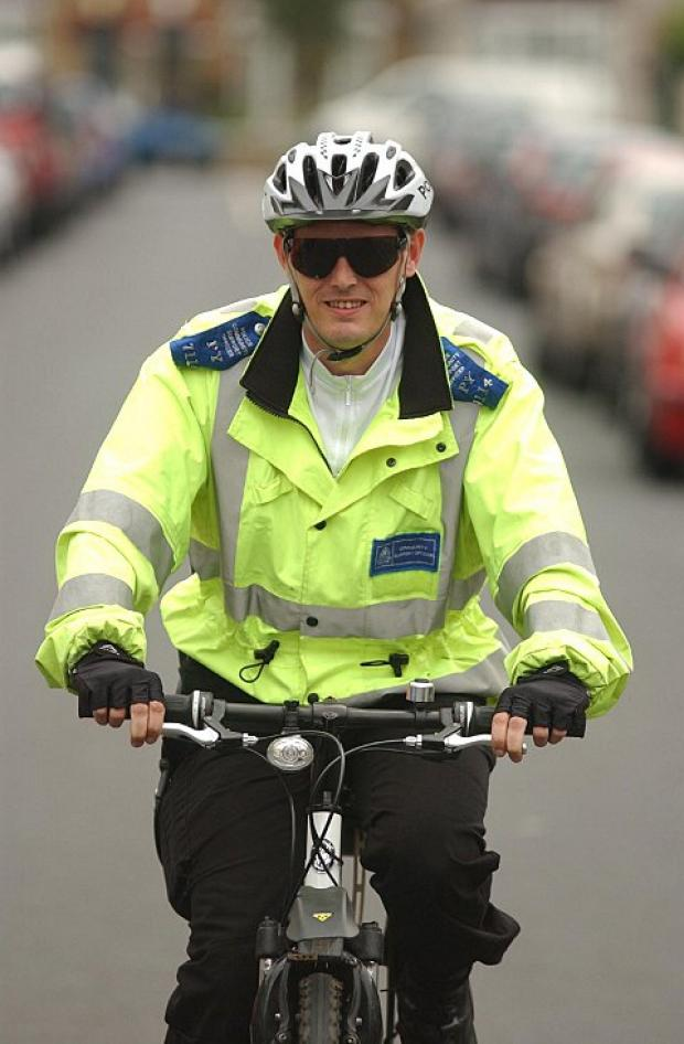 The police cannot afford the bike maintenance costs