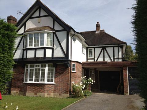 The family home in Claygate