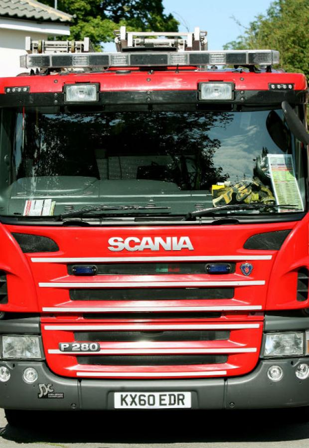 Man treated for smoke inhalation after kitchen fire