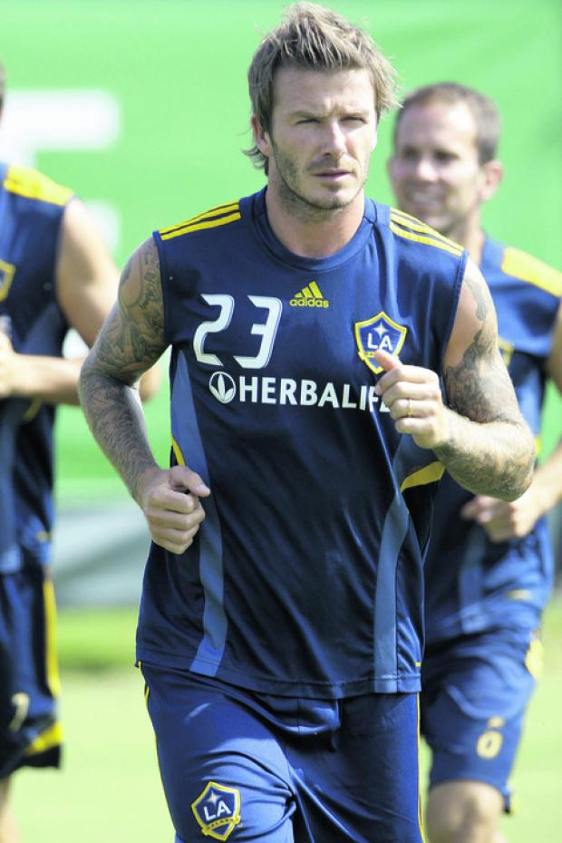 Can the Hammers tempt David Beckham to return to East London?: Action Images