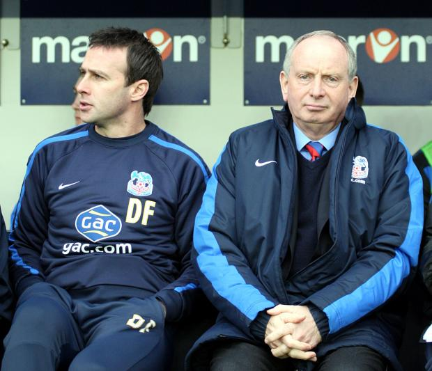 Dougie Freedman will be joined in the Valley dugout by ex-Addicks boss Lennie Lawrence. EDMUND BOYDEN.