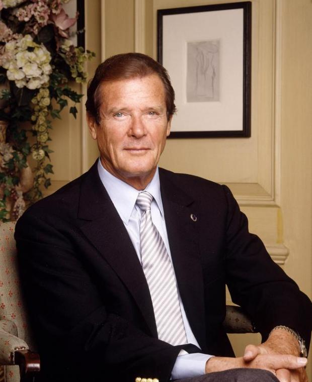 Roger Moore will sign copies of his book at Bluewater on October 13