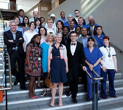 Lewisham Healthcare NHS Trust staff form choir for new Gareth Malone BBC2 show