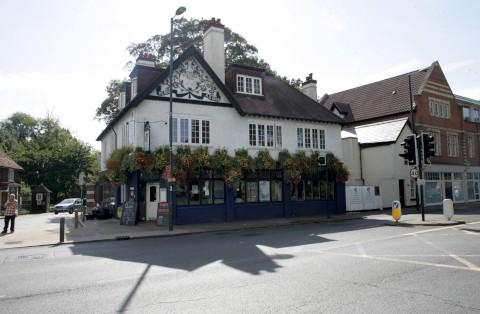 Attack: The Old King's Head pub