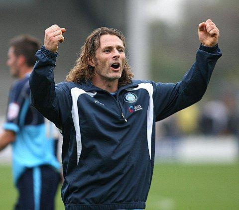 Don Woodward says Gareth Ainsworth is the front runner to become Wanderers' next permanent manager
