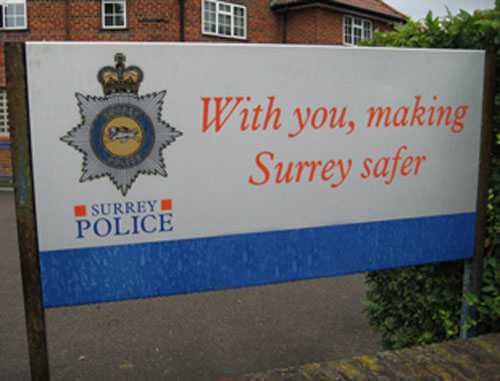 Surrey Police: Callers are not genuine