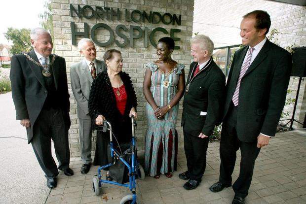 The official opening of the North London Hospice earlier this month