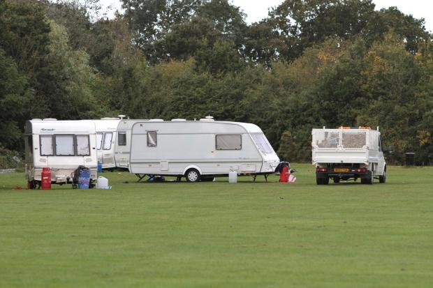 A convoy of caravans and vans first arrived at Cannon Hill Common on Monday, September 3, and have repeatedly returned