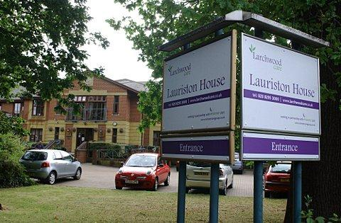 Lauriston House care home in Bickley is at risk of closure