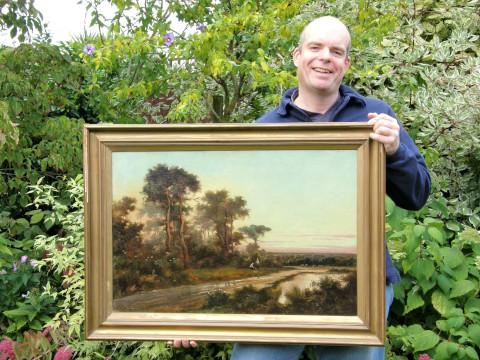 Richard Johnson and the Worcester Park painting