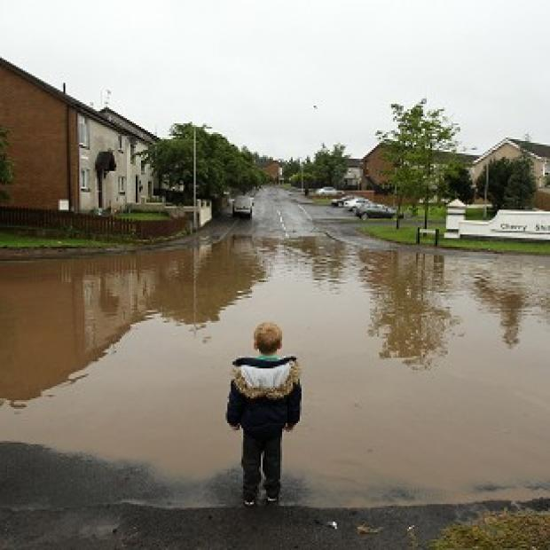 Weather forecasters are warning of potential flooding after heavy rain overnight