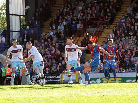 The defender fires Palace 3-2 in front
