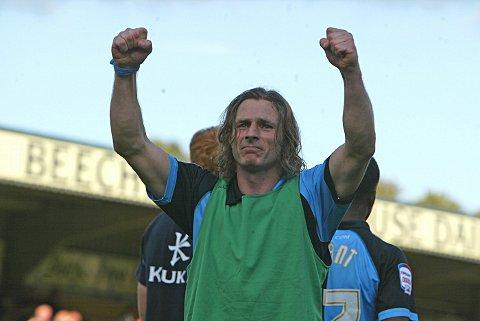 Gareth Ainsworth may drop himself from the Wanderers side that plays Portsmouth