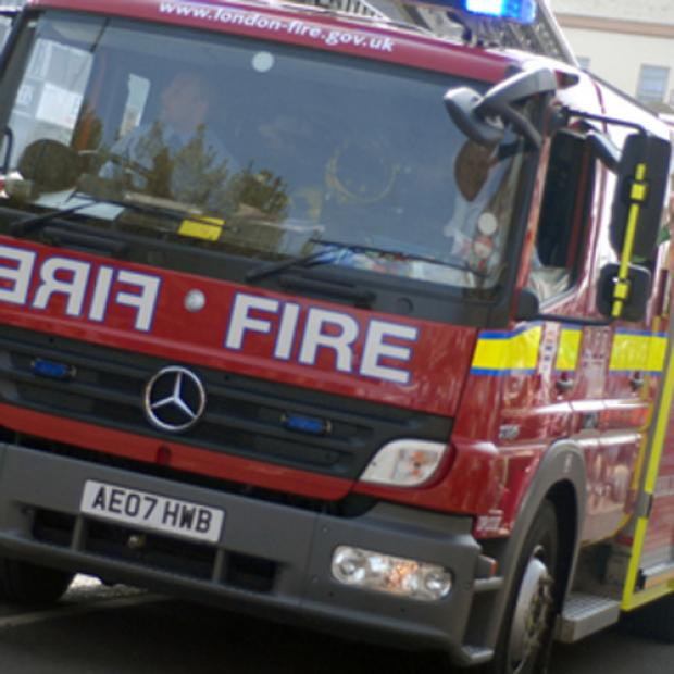 Firefighters put out suspected New Year's Day arson attack at Sainsbury's in Surbiton