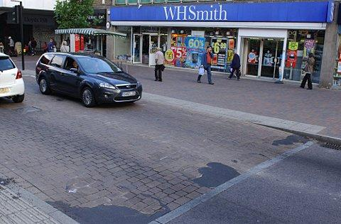 This Is Local London: Parts of Orpington High Street have had to be patched up