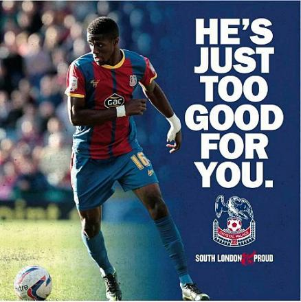 He's just too good for you: But then so are the other Palace players, according to the boss