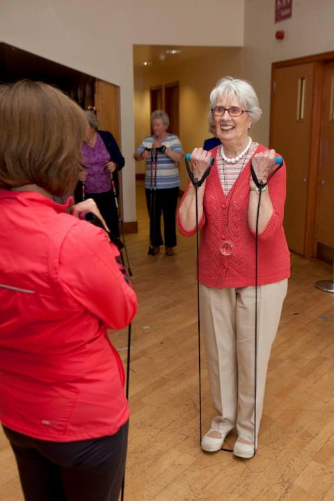 Active lives: Today's older people are enjoying a far wider range of activities