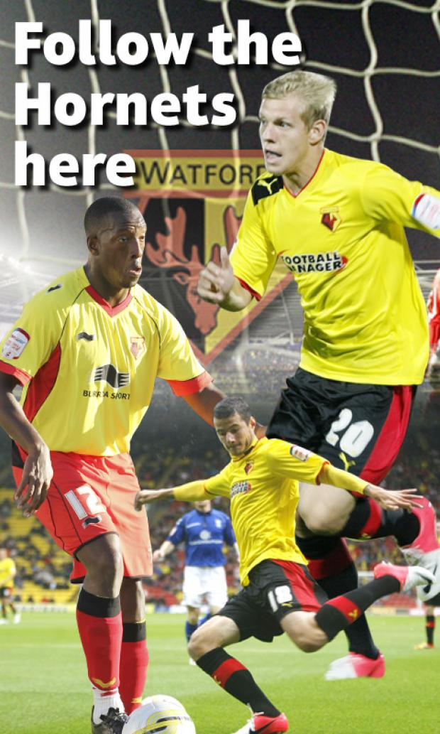 Discuss the action as Watford take on Peterborough