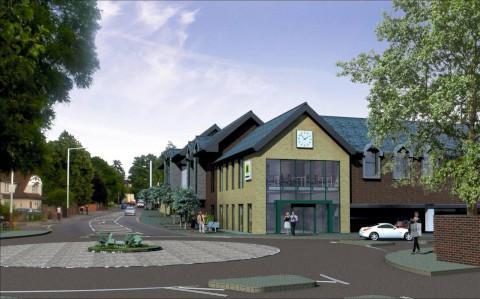 The new Morrisons plans for Weybridge were rejected