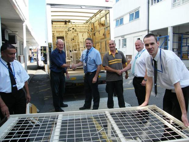 Epsom and St Helier hospitals have donated beds to sick people in parts of Africa and Asia
