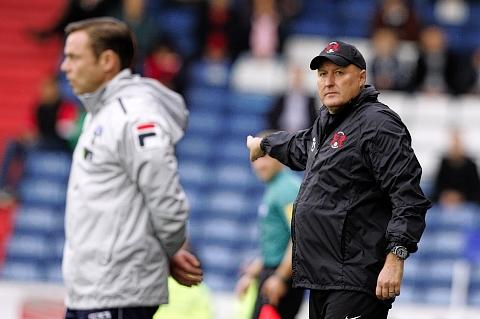 Russell Slade will be looking for a response after their weekend defeat: Simon O'Connor