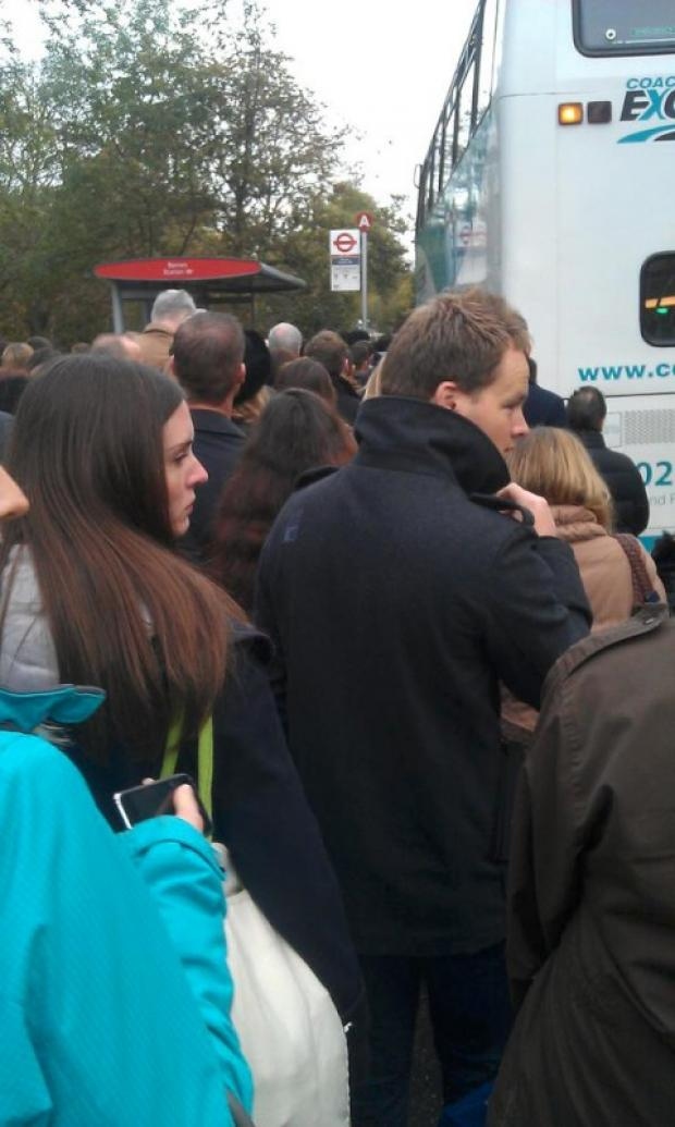 Commuter agony after Twickenham to Barnes trains hit by late engineering works