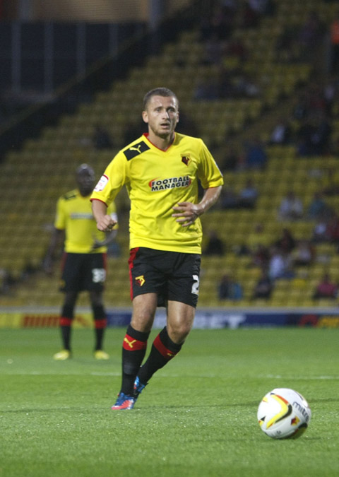 Watford midfielder Almen Abdi. Picture: Holly Cant