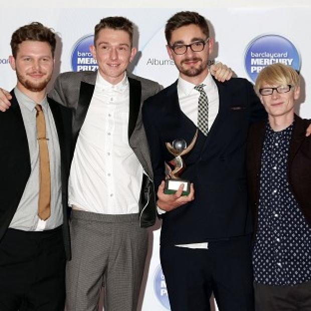 Alt-J were announced as winners of the Mercury Prize
