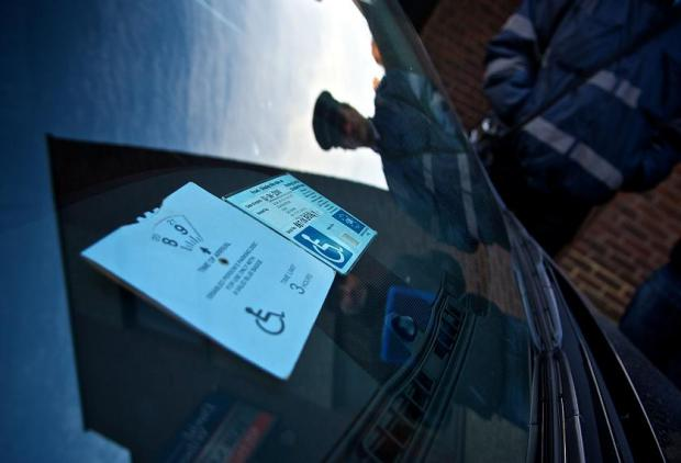Abullah Seyed was fined £295 for misusing his relative's blue badge