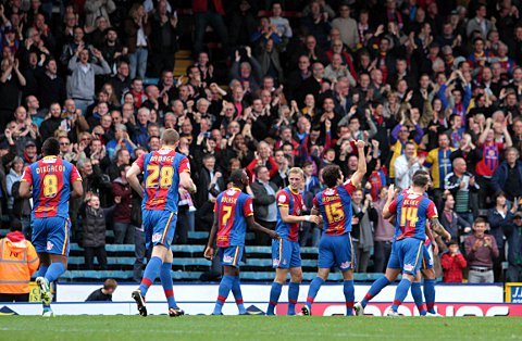Fans offer: Crystal Palace have a half-season ticke