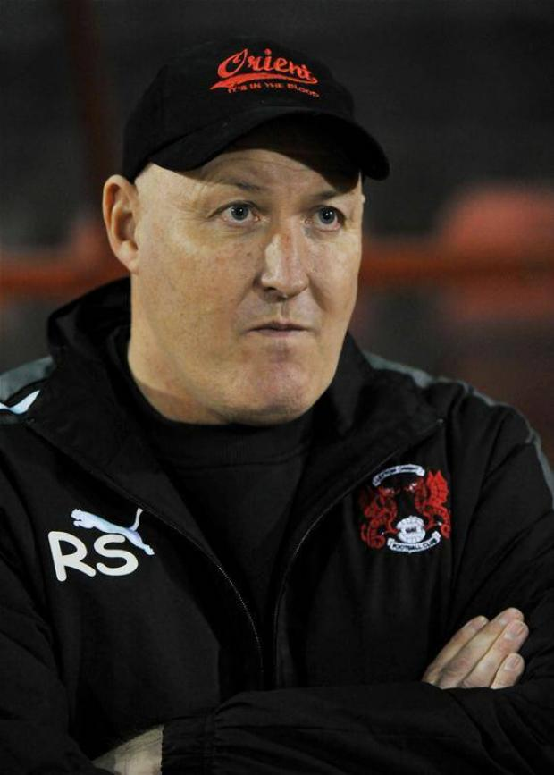Russell Slade's side could be without several players against Crewe Alexandra: Action Images