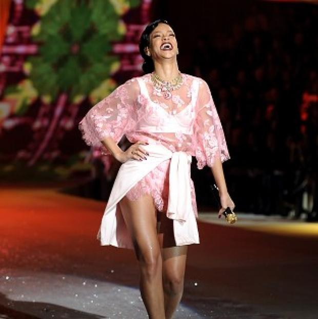 This Is Local London: Rihanna strutted her stuff at the 2012 Victoria's Secret Fashion Show in New York