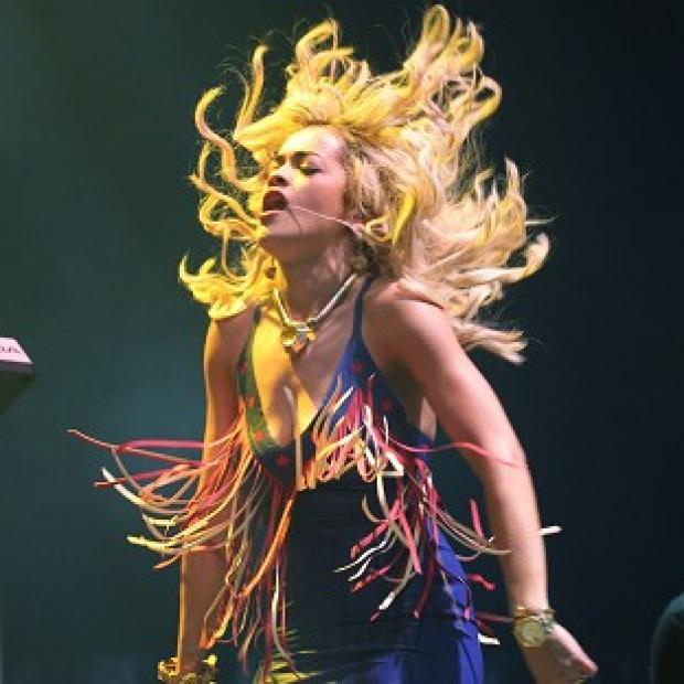 Rita Ora apologised after accidentally flashing the flesh on stage