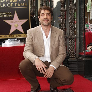 Javier Bardem said he was thrilled to receive a star on the Hollywood Walk of Fame