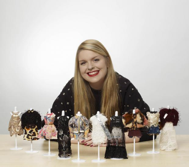 Epsom UCA arts graduate Christina Ruby Walton creates world's smallest catwalk