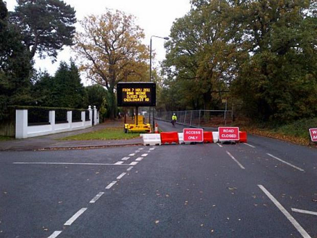This Is Local London: Chislehurst Road Bridge has been closed since November 7 last year