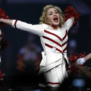Madonna was joined on stage by Gangnam Style sensation Psy