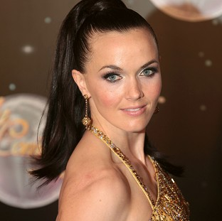 Victoria Pendleton will be back on a bike for her latest Strictly routine