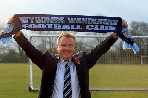 Wanderers chairman Don Woodward