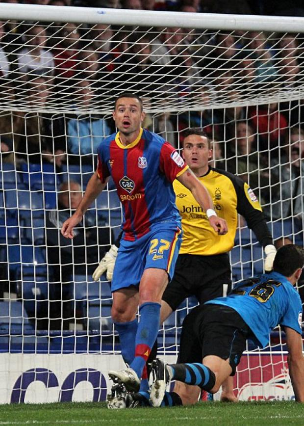 Central to Palace: Damien Delaney has been rewarded for his fine Eagles displays with a two-year contract     SP70344