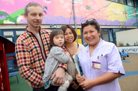 Unsung hero: Children's nurse Yoshi Bunce